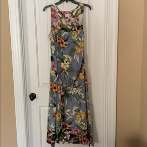 Signature Robbie Bee Long Floral Dress